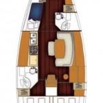 Beneteau-Cyclades-43-4-layout