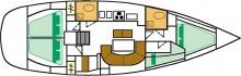 oceanis-411-layout